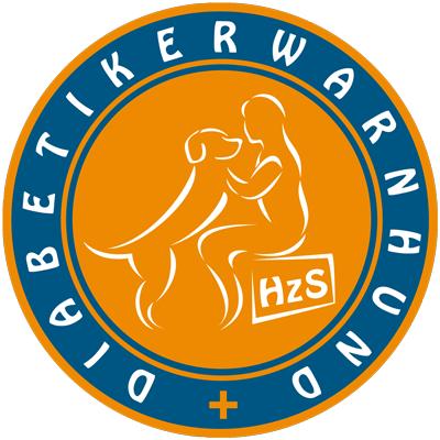 hundeschule-susanne-kohler-bühlerzell - man sieht das runde logo des diabetikerwarnhund netztwerks